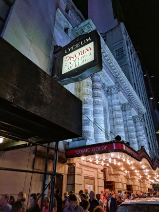 We went to a hilarious show, 'The Play That Goes Wrong.'